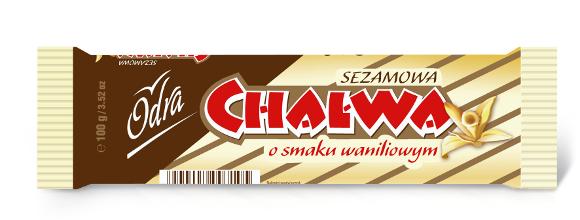 Sezamowa Chałwa o smaku waniliowym